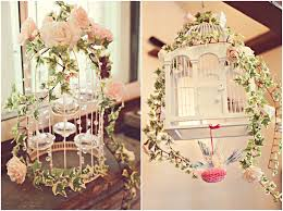 Vintage Wedding Diy Birdcage Tealights Decorations National DMA