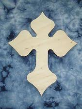 unfinished wooden crosses unfinished wood cross ready to paint items ebay
