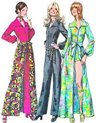 70s jumpsuit womens 1970s womens jumpsuit pattern simplicity 9674 front zip jumpsuit