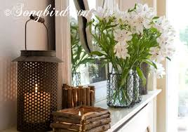 decorating ideas for your mantel and table