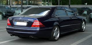 mercedes benz s class w220 wikiwand