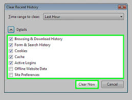 How To Clear Google Maps History How To Clear Your Privacy Data On Mozilla Firefox 10 Steps