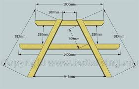 Free Hexagon Picnic Table Plans by Woodworking Ija October 2014