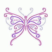 embroidery designs of butterfly makaroka com