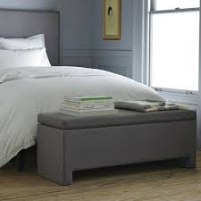 100 gray ottoman storage rectangle gray ottomans bhg com