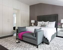 bench gray bedroom chuckturner for new property ideas design