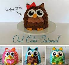 wonderful diy cute owl cake owl cakes animal design and owl