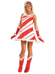 Christmas Halloween Costumes Candy Cane Costume Christmas Halloween Costumes