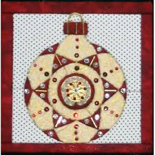 christmas tree ornament 4a u201cno sew u201d quilted wall hanging kit