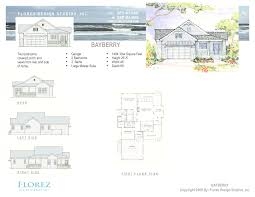 floor plan book the bayberry house plan florez design studios