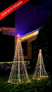 itwinkle christmas tree ge itwinkle 7 5 ft musical twinkle tree outdoor christmas