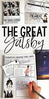 the great gatsby unit interactive workbook gatsby high