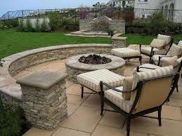 uncategorized enchanting round brick home fire pit designs