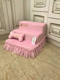 ballerina pink pet stairs dog ramps dog stairs in pink dog