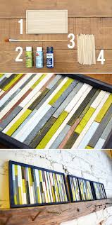 Home Decor For Walls 39 Easy Diy Ways To Create Art For Your Walls Inexpensive Wall