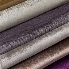 tissus ameublement canapé wx0693 velours tissu pour rideau canapé tissu d ameublement dans
