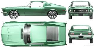 1968 mustang dimensions the blueprints com vector requests ford mustang shelby gt390