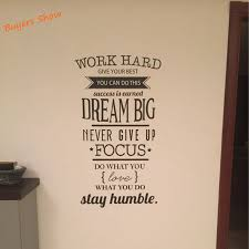 aliexpress com buy free shipping motivation wall decals office