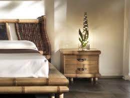 chambre en bambou meuble pour chambre en bambou haut de gamme lit chevet commode