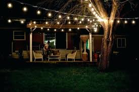 Solar Powered Patio Lights String Outdoor Garden String Lights String Lights For Backyard Wedding A