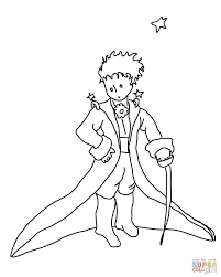the little prince coloring page free printable coloring pages