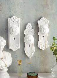 Decorative Wall Hooks for Coats in Door Knob Shapes