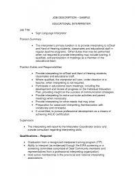 interpreter resume samples asl interpreter jobs the sign language interpreter resume resume asl interpreter jobs portal for translators and translation agencies page 522