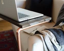 Diy Lap Desk Diy Copper Laptop Table House Of Jade Interiors Blog
