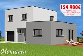 prix maison neuve 4 chambres plan de maison 4 chambres plain pied 15 maison neuve toit plat