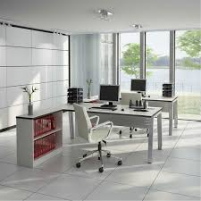 Grey Wooden Desk Decoration Ideas Astounding Ideas For Office Interior Design With