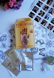 jersey texan heart henna tattoo kit
