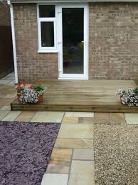 Indian Sandstone Patio by Fossil Mint Sandstone Sandstone Paving Garden Paving