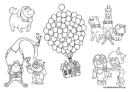 up house coloring sheets
