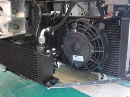 oil cooler with fan diy gtm supercharger oil cooler fan mount for additional air flow