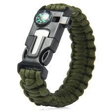 survival bracelet with whistle images 5 in 1 outdoor survival gear escape paracord bracelet flint jpg