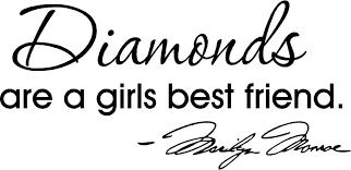 amazon com diamonds are a girls best friend marilyn monroe wall