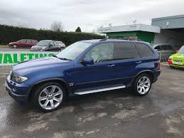 Bmw X5 Blue - bmw x5 4 8is le mans blue sport edition price reduced widescreen