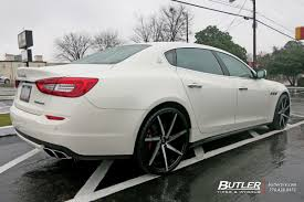2016 maserati granturismo custom maserati quattroporte with 22in lexani css7 wheels exclusively