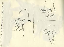 How People Go Blind Scribbling With Spirit How To Practice Scribbling People Using