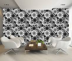 3d illusion optical b w abstract art decor wall mural photo 3d illusion optical b w abstract art decor wall mural photo wallpaper art 229