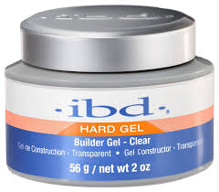 amazon com ibd led uv gels builder clear 2oz nail polish beauty