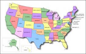 united states map with states on it free united states of america map united states maps