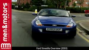 ford streetka overview 2003 youtube