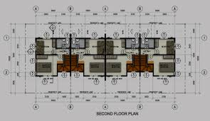 row house floor plan midori rowhouse second floor plan northfield residences