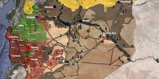 Syria Map Of Control by Mosul Diaries Poisoned By Water