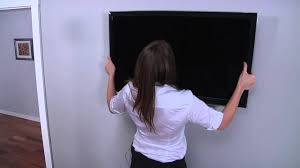 Sanus Simplicity Wall Mount How To Mount Your Flat Panel Tv With A Sanus Tv Mount Youtube