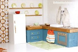 diy kitchen furniture how to make a dollhouse kitchen the handmade home
