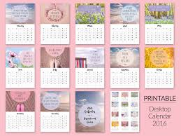 printable calendar 2016 etsy calendar with inspirational quotes best quote 2017