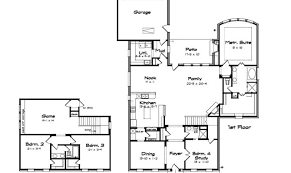 floor plans with large kitchens farmhouse plans with large kitchens