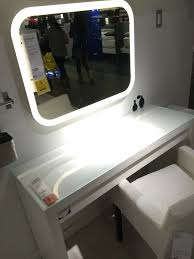 Dual Illuminated Vanity Mirrors Bathroom Elegant Vanity Mirrors Ikea Attractive Lighted Diy Mirror